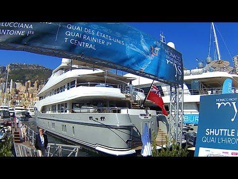 MonacoYachtShow 2017, U-boats, Glider, Billionaire Super Yacht tour