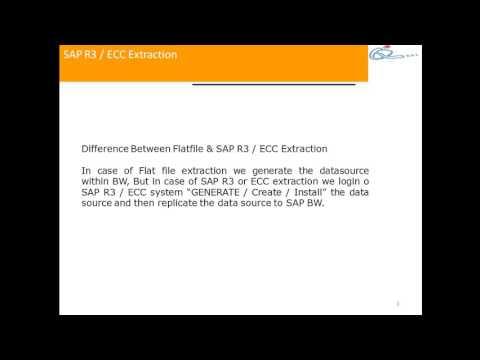 ECC Extraction Introduction