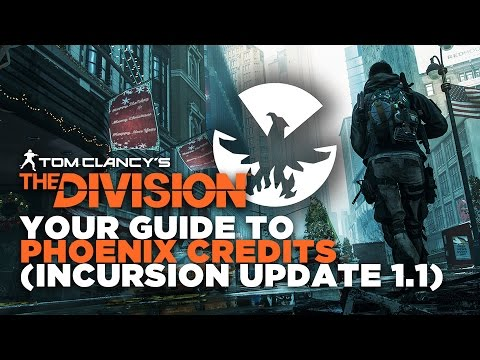 The Division - How To Get Phoenix Credits Fast After Update 1.1
