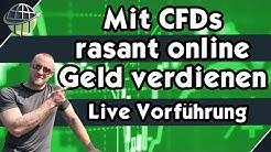 Mit CFD Trading rasant Online Geld verdienen❗️LiVE Vorführung und CFD Anleitung
