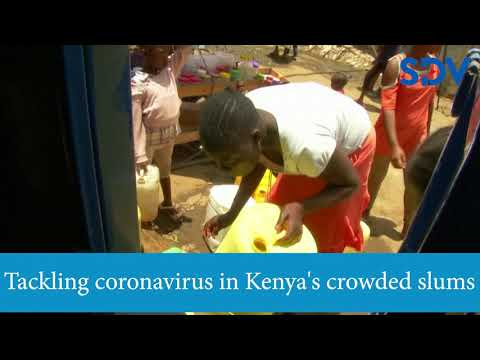 Ticking Time Bomb:  Crowded slums in Kenya face a higher risk amid COVID-19 outbreak