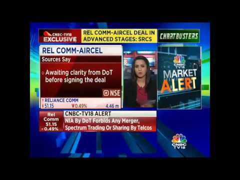 Reliance Comm-Aircel Deal In Advanced Stages
