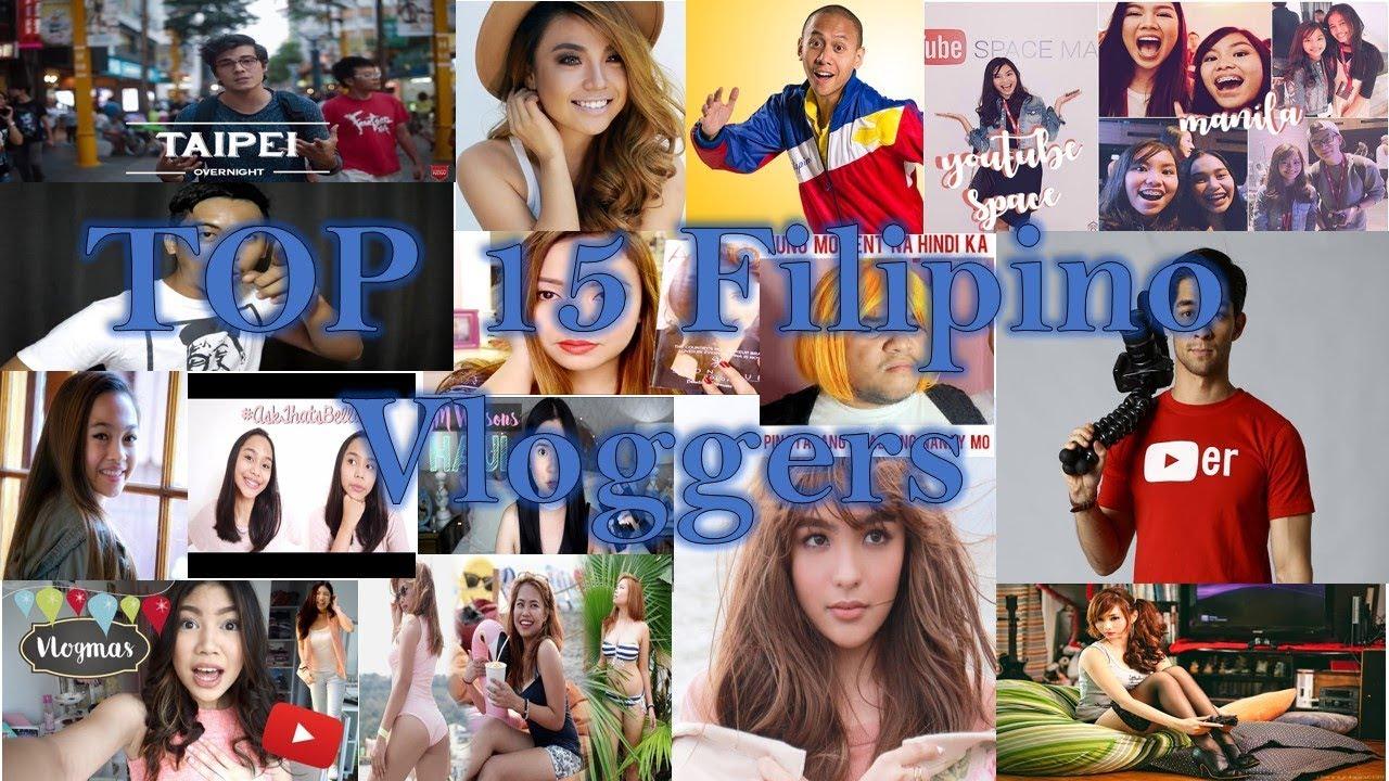Top 15 Most Followed Filipino Vloggers 2018