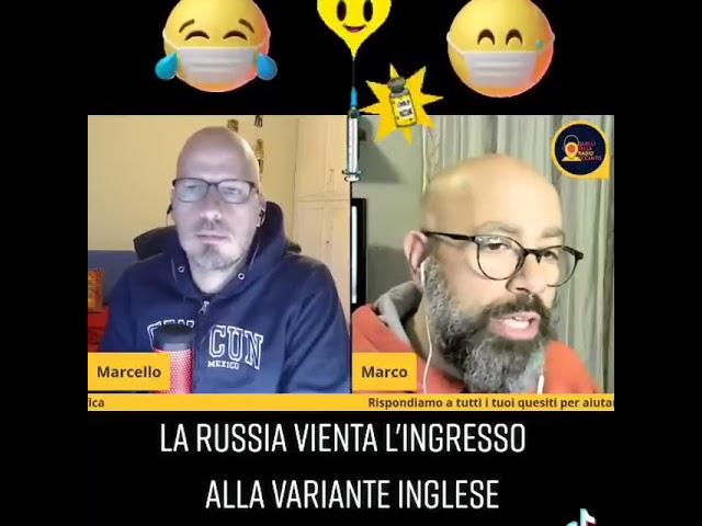 Russia vieta l'ingresso della variante inglese (covid)