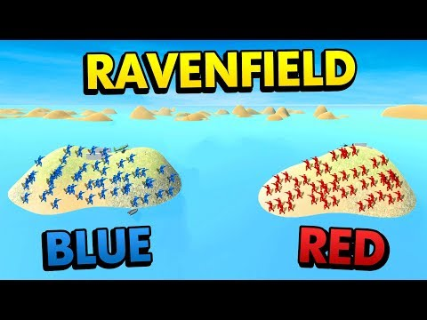 BLUE ISLAND vs RED ISLAND IN RAVENFIELD! (Ravenfield Funny Gameplay)