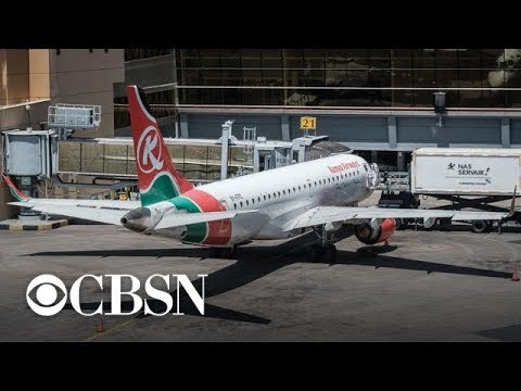 Body of suspected Kenya Airways stowaway falls from plane