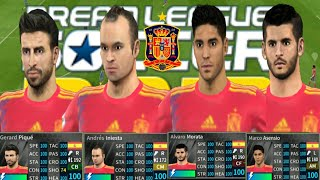 How To Back Spain Team Kits 2018◾All 100 Player◾ Draem League Soccer 2019 UPDate New
