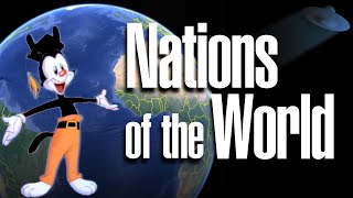 "On 14th September 1993, Yakko Warner sung ""The Nations of the World..."