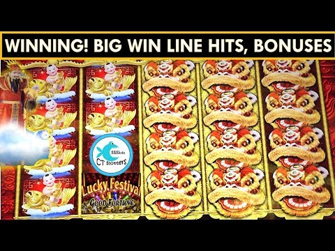 Lucky Festival Slot Machine * Good Fortune * Big Wins with Friends!