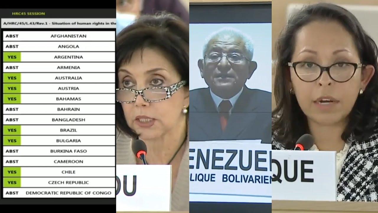 La ONU aprueba extender por dos años la misión sobre violaciones de derechos humanos