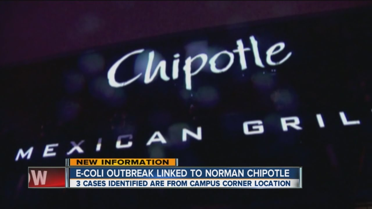 Chipotle reveals that 3 sickened with E. coli visited Norman, Okla. location