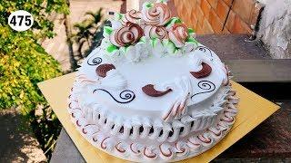 chocolate cake decorating vanilla (475) Làm Bánh Kem Nho Đỏ (475)