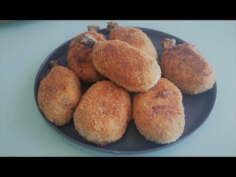 🍗🍗pilon-de-poulet-pané-farcie-à-la-pomme-de-terre-et-cheddar-والجبن-أرجل-الدجاج-المحشوة-بالهرس