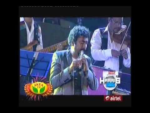 """Anbe En Anbe"" Performed by Harish Raghavendra with Harris Jayaraj"