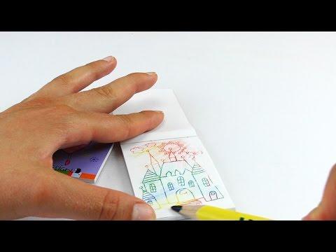 Feen und Prinzessinnen malen im Zauberblock | Regenbogen | Tolle Bilder anmalen für Kinder