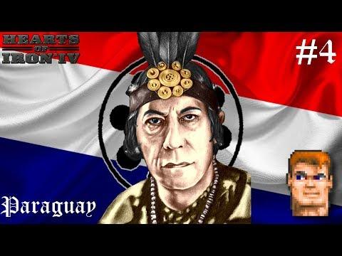 ОБЪЕДИНЕНИЕ ЮЖНОЙ АМЕРИКИ! - Hearts of Iron IV Paraguay mod #4