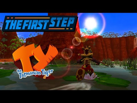 The First Step - Ty The Tasmanian Tiger