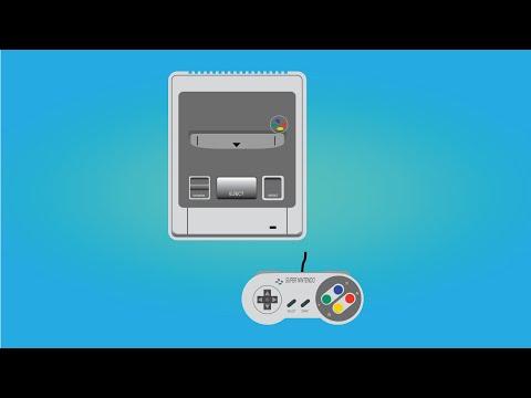 Super Nintendo Design - Illustrator Tutorial thumbnail