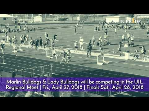 Marlin Bulldogs & Lady Bulldogs  | UIL Regional Track Meet Promo