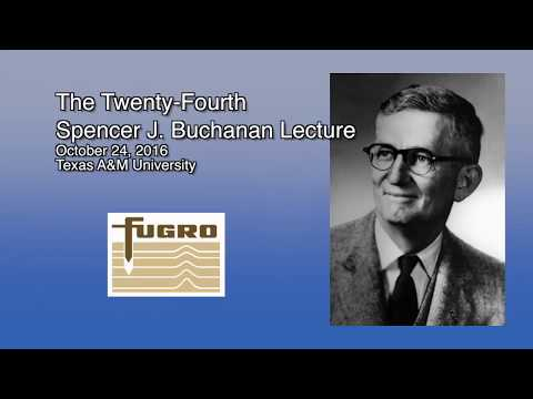 Bio-Geo-Alchemy: Biogeotechnical Carbonate Precipitation - 2016 Buchanan Lecture By E. Kavazanjian