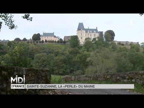 """SUIVEZ LE GUIDE : Sainte-Suzanne, la """"perle"""" du Maine"""