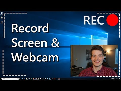 How To Record Your Computer Screen & Webcam