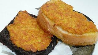 Горячие бутерброды с картошкой! Что приготовить на ужин, на обед? Картофельные гренки на сковороде!