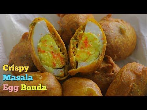 Egg Bajji| ఎగ్ బోండా | Egg Pakoda | The Best Crispy Egg Bonda | Best Evening Egg Snack In telugu