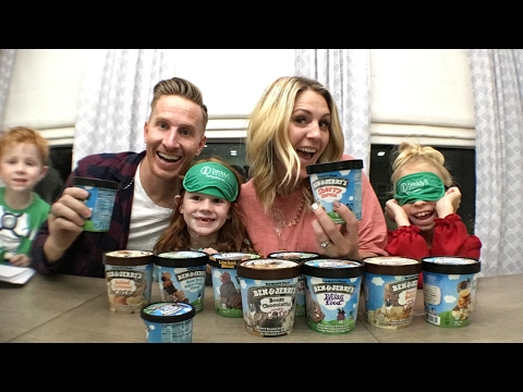 Ben and Jerry's ice cream challenge