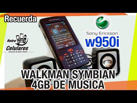 Recuerdas Sony Ericsson W950i Colección Celulares Clásicos, Antiguos, Viejos RETRO CELULARES