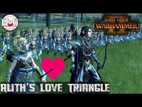 Alith's Love Triangle - Total War Warhammer 2 - Online Battle 188 |