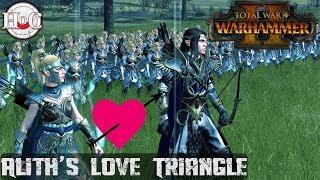 Alith's Love Triangle - Total War Warhammer 2 - Online Battle 188