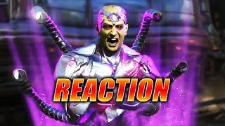 MAX REACTS w/Doods: Brainiac Trailer (Injustice 2)