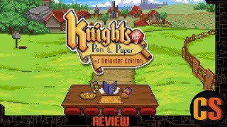 KNIGHTS OF PEN AND PAPER +1 DELUXIER EDITION - REVIEW