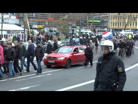 Naziaufmarsch in Koblenz am 15.03.2014