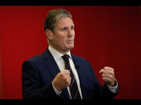 Shadow Brexit secretary, Keir Starmer, speaks at the Labour conference – watch live