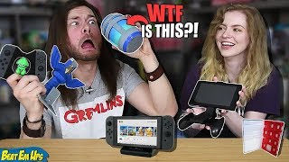 My Girlfriend Buys My WEIRD Nintendo Switch Accessories, AGAIN!