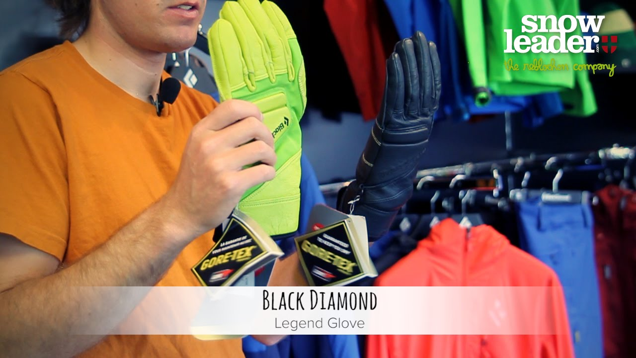 Black diamond virago gloves - Black Diamond Legend Glove Gant De Ski Par Snowleader