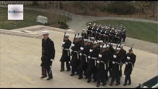 Wreath Laying Ceremony at the Tomb of the Unknown Soldier