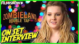 ZOMBIELAND: DOUBLE TAP   Abigail Breslin Little Rock On-set Interview YouTube Videos