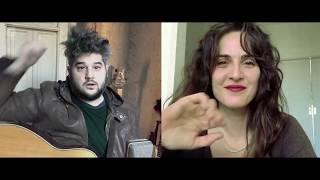Julieta Diaz y Javier Montalto en Cuarentena