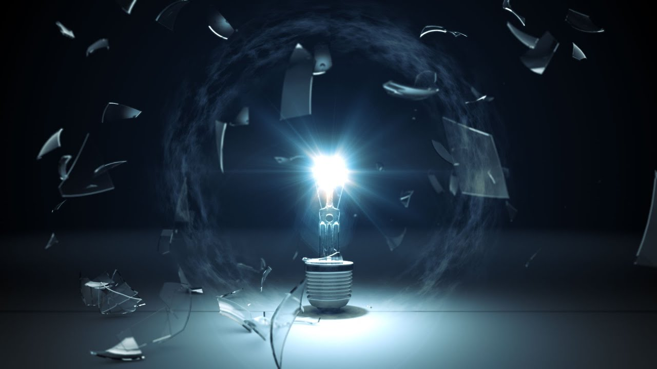 after effects template light bulb explosion logo reveal youtube