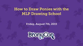 How to Draw Ponies with the MLP Drawing School