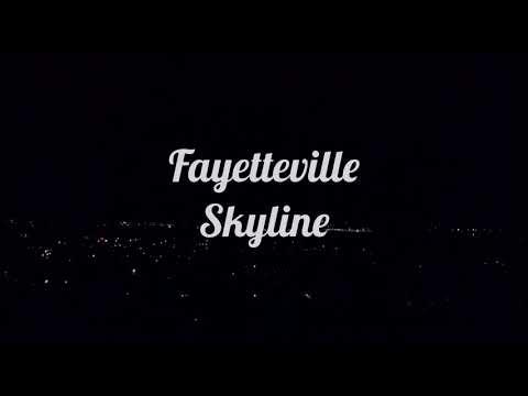 Fayetteville Skyline || DJI || Southern Storm Productions