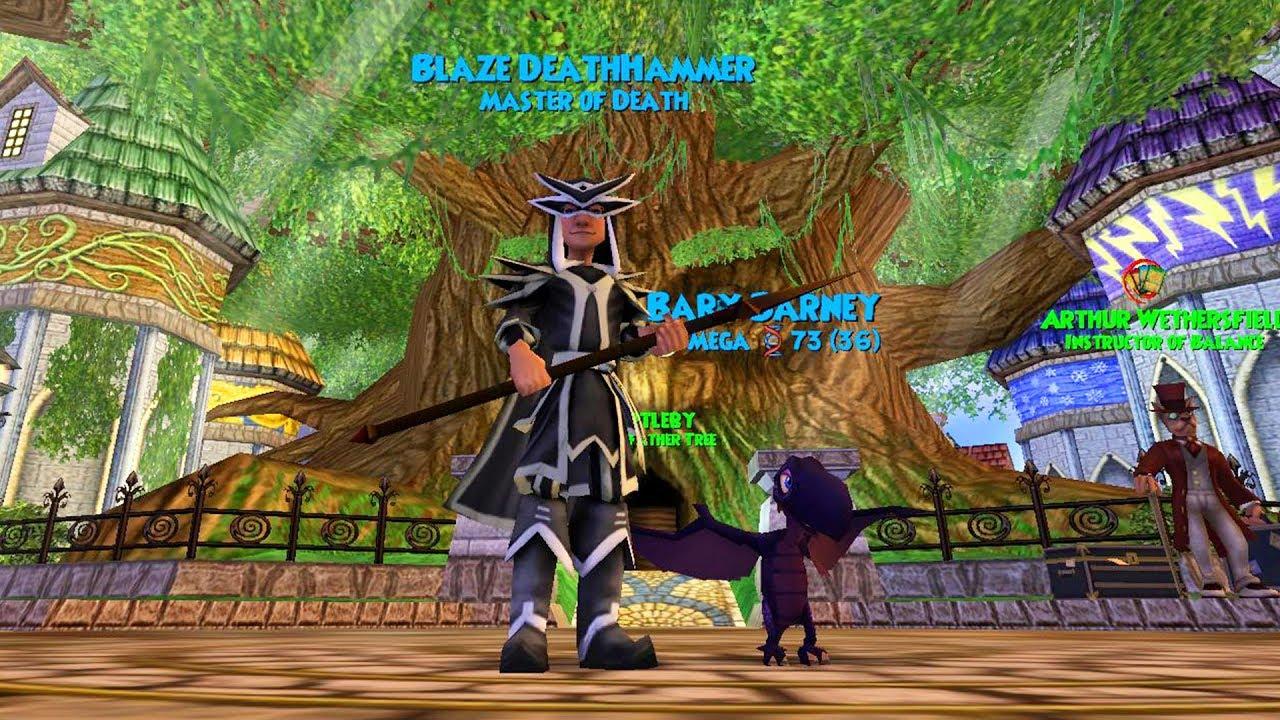 Wizard101: DEATH WIZ GEAR UPDATE (Lvl 60)