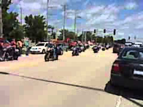 PFC Michael Olivieri Funeral Procession