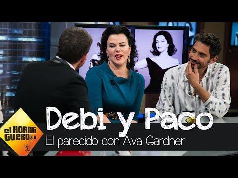 Debi Mazar y su parecido razonable con Ava Gardner  El Hormiguero 3.0