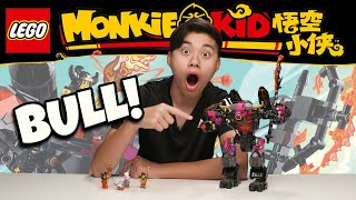 DEMON BULL KING!!! Lego Monkie Kid Set 80010 - Giveaway, Speed Build, Unboxing & Review!