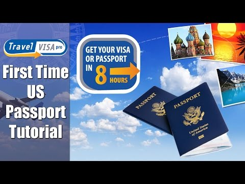 How to get your First US Passport in a Hurry