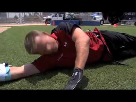 San Francisco 49ers tight end Vernon Davis on FSN Sports Science